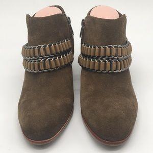 Sam Eldelman strap ankle boots